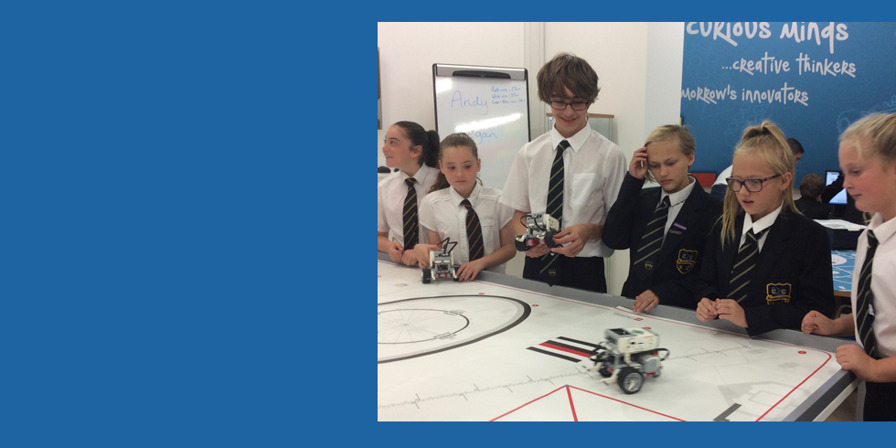 STEM Club Build LEGO Robots at Newcastle College