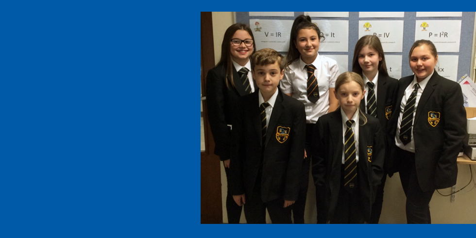 Congratulations to Our New Science Leaders!