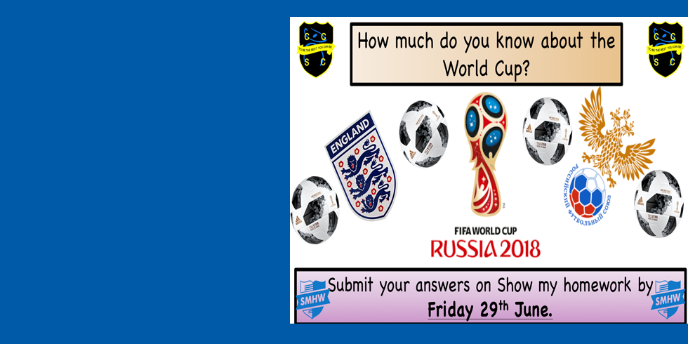 CCSC Launches the World Cup Quiz 2018!